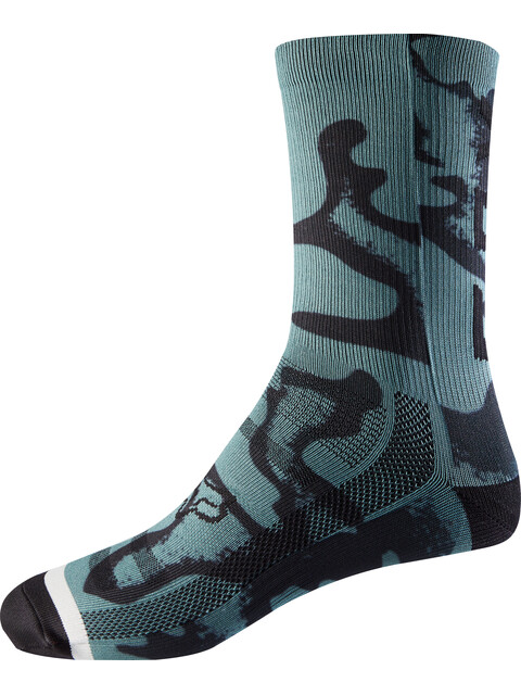 "Fox 8"" Print Trail Socks Women pine"